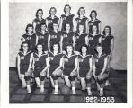Women's 1952-1953 basketball team, Immanuel Deaconess Institute