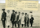 Students of District #77, Cheyenne County, Nebraska