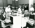 Home economics class, Whittier Junior High School