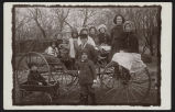 Children on a buggy