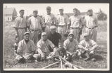 Baseball team, Spalding, Neb.