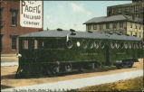 Union Pacific motor car, U.P.R.R. Co.