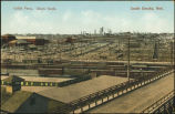 Cattle pens, Stock yards, South Omaha, Neb.