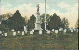 G. A. R. monument and circle, Forest Lawn Cemetery, Florence, Neb.
