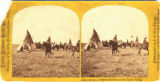Camp of Pawnee Indians on the Platte Valley