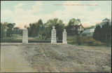 Entrance to Forest Lawn Cemetery, Florence, Neb.