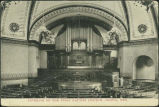 Interior of the First Baptist Church, Omaha, Neb.