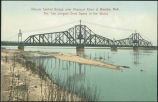 Illinois Central Bridge over Missouri River at Omaha, Neb. : the two longest draw spans in the...